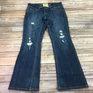 American Rag Women Distressed Jean's Sz 5S N396